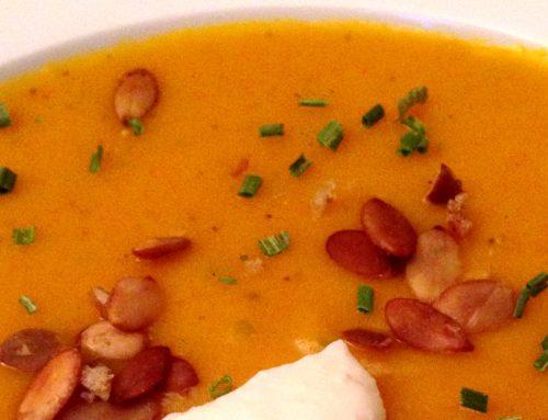 Mias köstliche Kürbissuppe